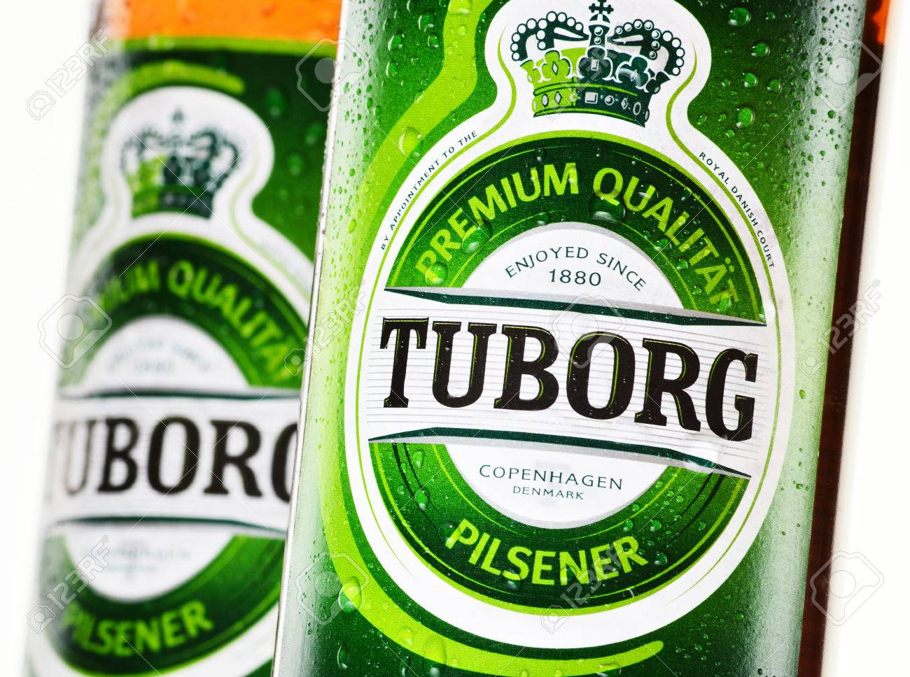 Tuborg, A Danish Brewing Company Founded In 1873 In Hellerup,.. Stock  Photo, Picture And Royalty Free Image. Image 30373072.