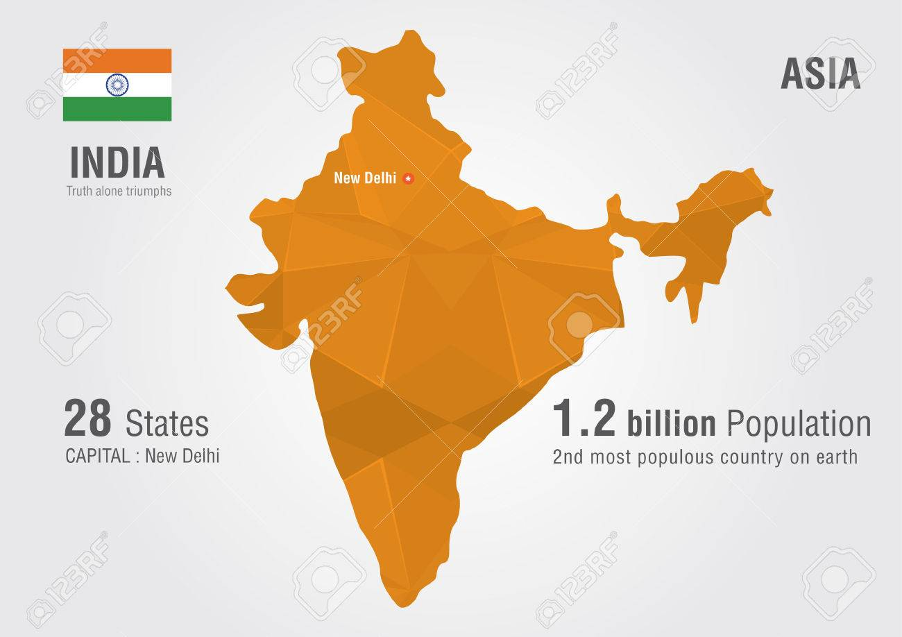 India world map with a pixel diamond texture world geography india world map with a pixel diamond texture world geography stock vector 30028430 gumiabroncs Gallery