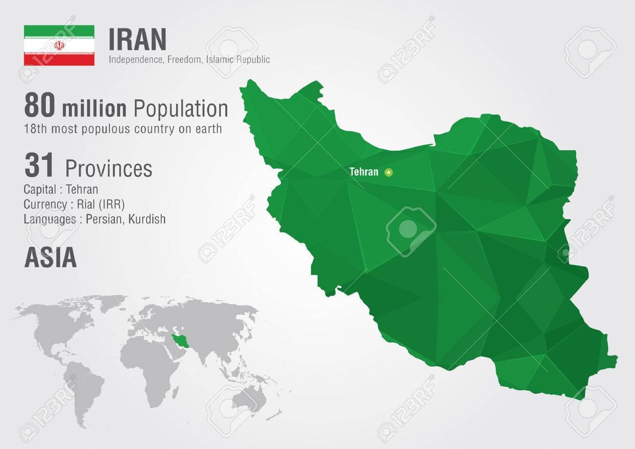 Iran world map with a pixel diamond texture world geography iran world map with a pixel diamond texture world geography stock vector 30202472 gumiabroncs Choice Image