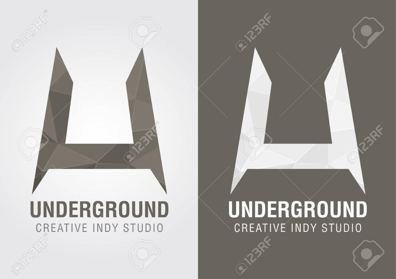 Underground Icon Vector u Underground Icon Symbol From