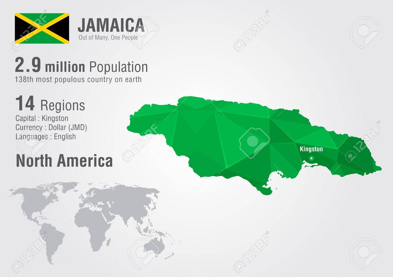 Map Of Usa Including Jamaica At Maps Jamaica Location On The - Map of jamaica and us