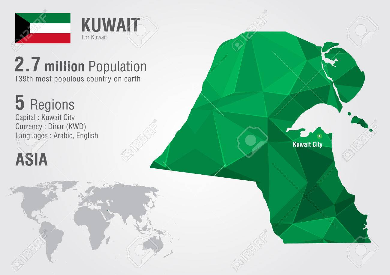 Kuwait world map with a pixel diamond texture world geography kuwait world map with a pixel diamond texture world geography stock vector 31400362 gumiabroncs Image collections