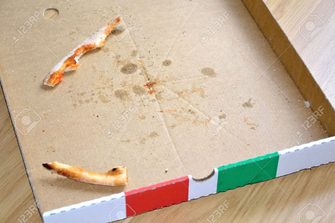 Empty Pizza Box Stock Photo, Picture And Royalty Free Image. Image ...