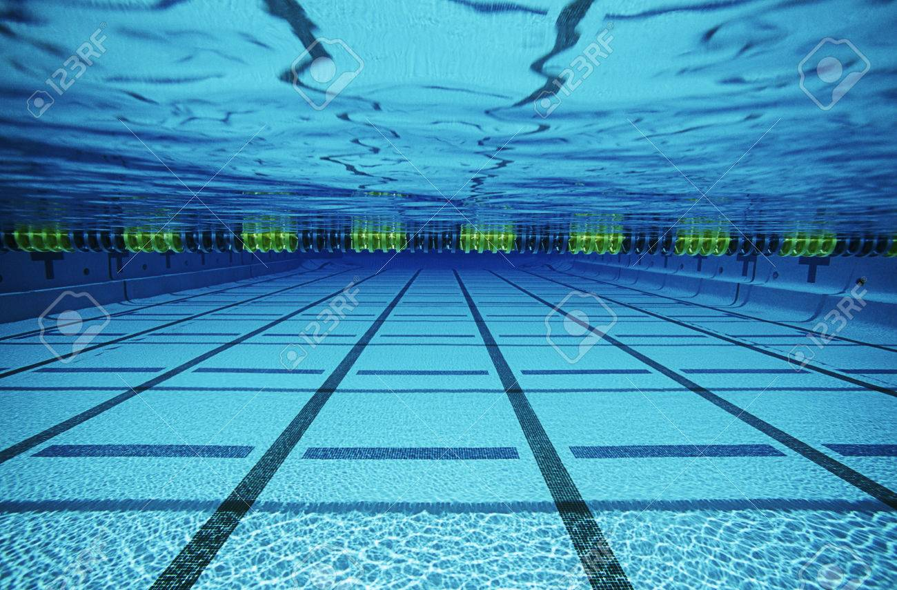 Empty swimming pool, underwater view Stock Photo - 3906441