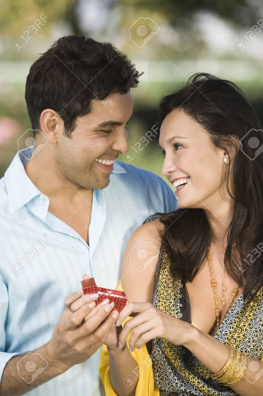 Man proposing to woman Stock Photo - 4926098