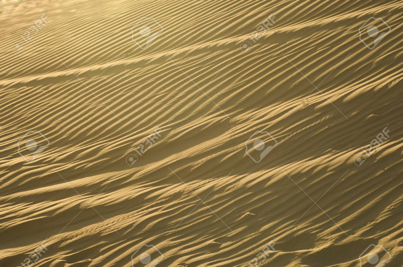 Wind Ripples in Sand Dunes Stock Photo - 4926134