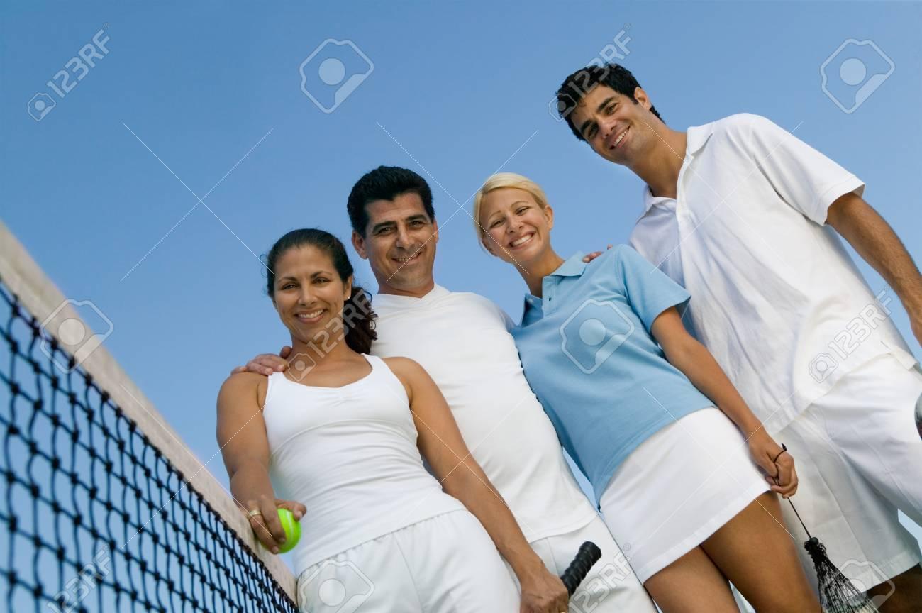 Tennis Buddies Stock Photo - 5419896
