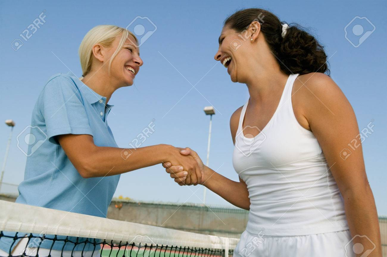 Tennis Players Stock Photo - 5419898