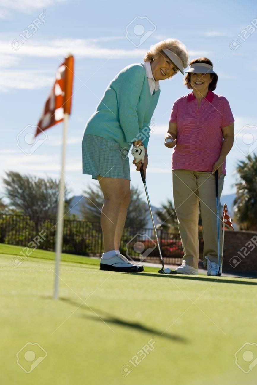 Senior Golfers Stock Photo - 5435747