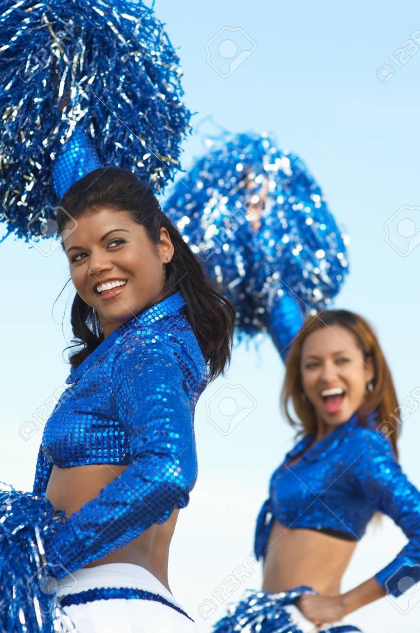 Cheerleaders Stock Photo - 5404495