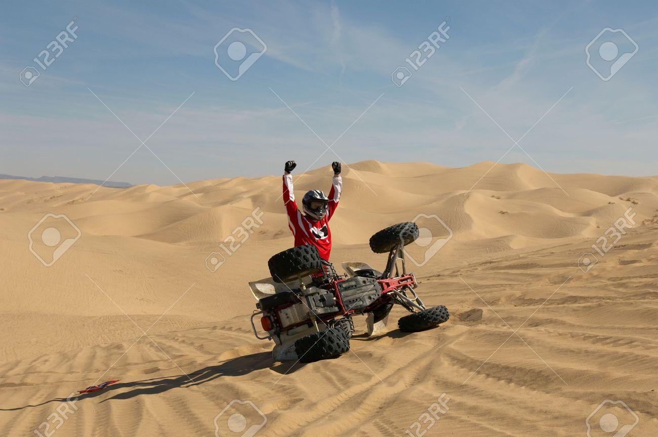 Four Wheeler Riding Stock Photo - 5449565