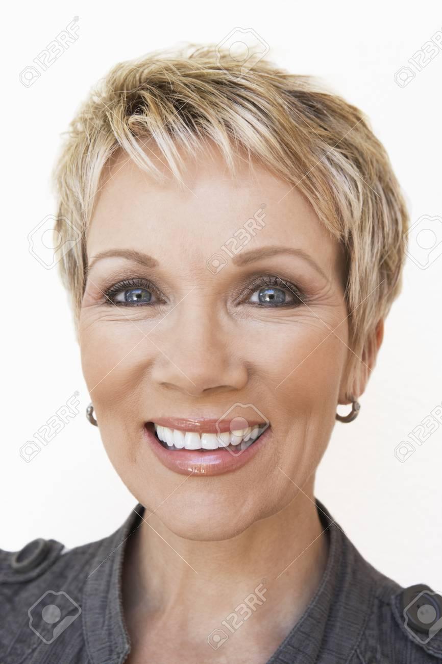 Woman Smiling Stock Photo - 5449956