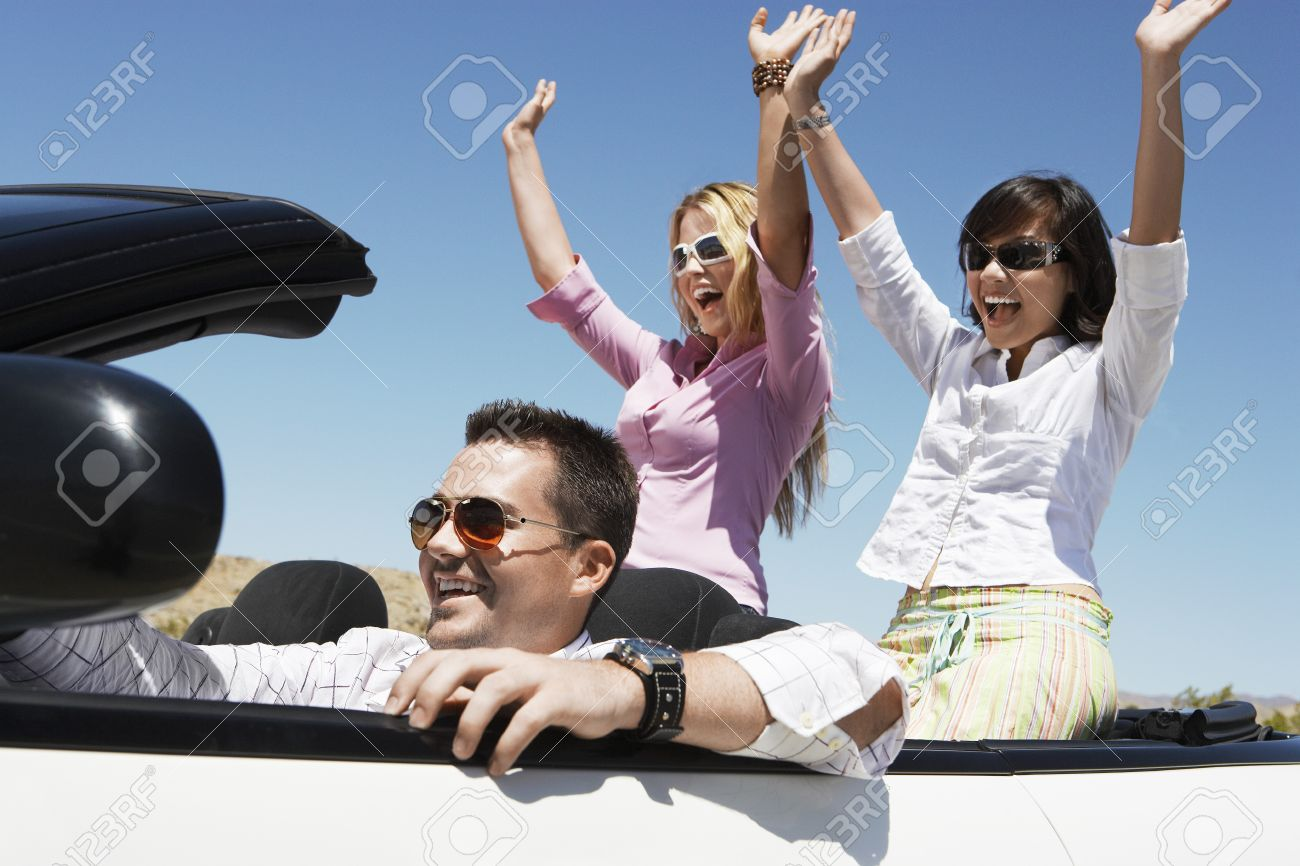 Friends on a Road Trip Stock Photo - 5460032