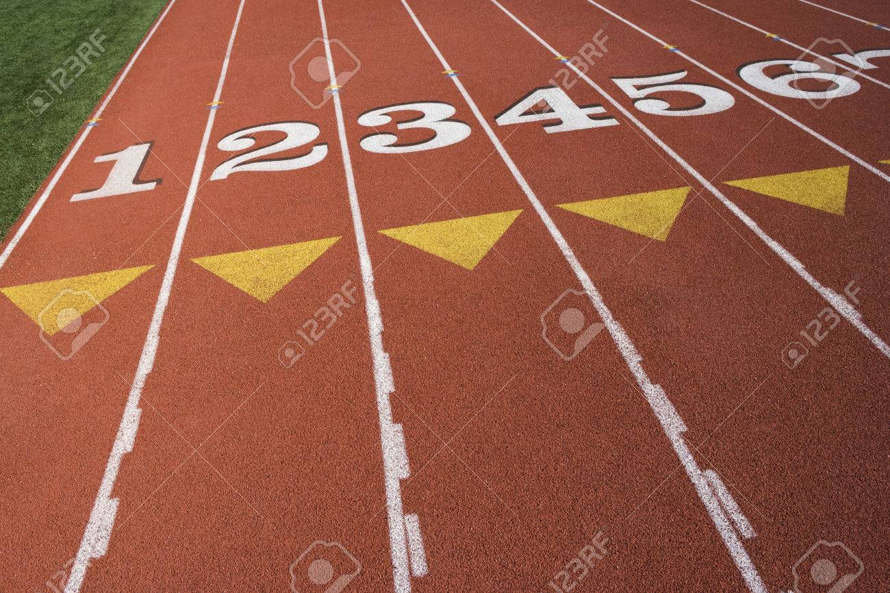 Detail of athletic field Stock Photo - 5475928