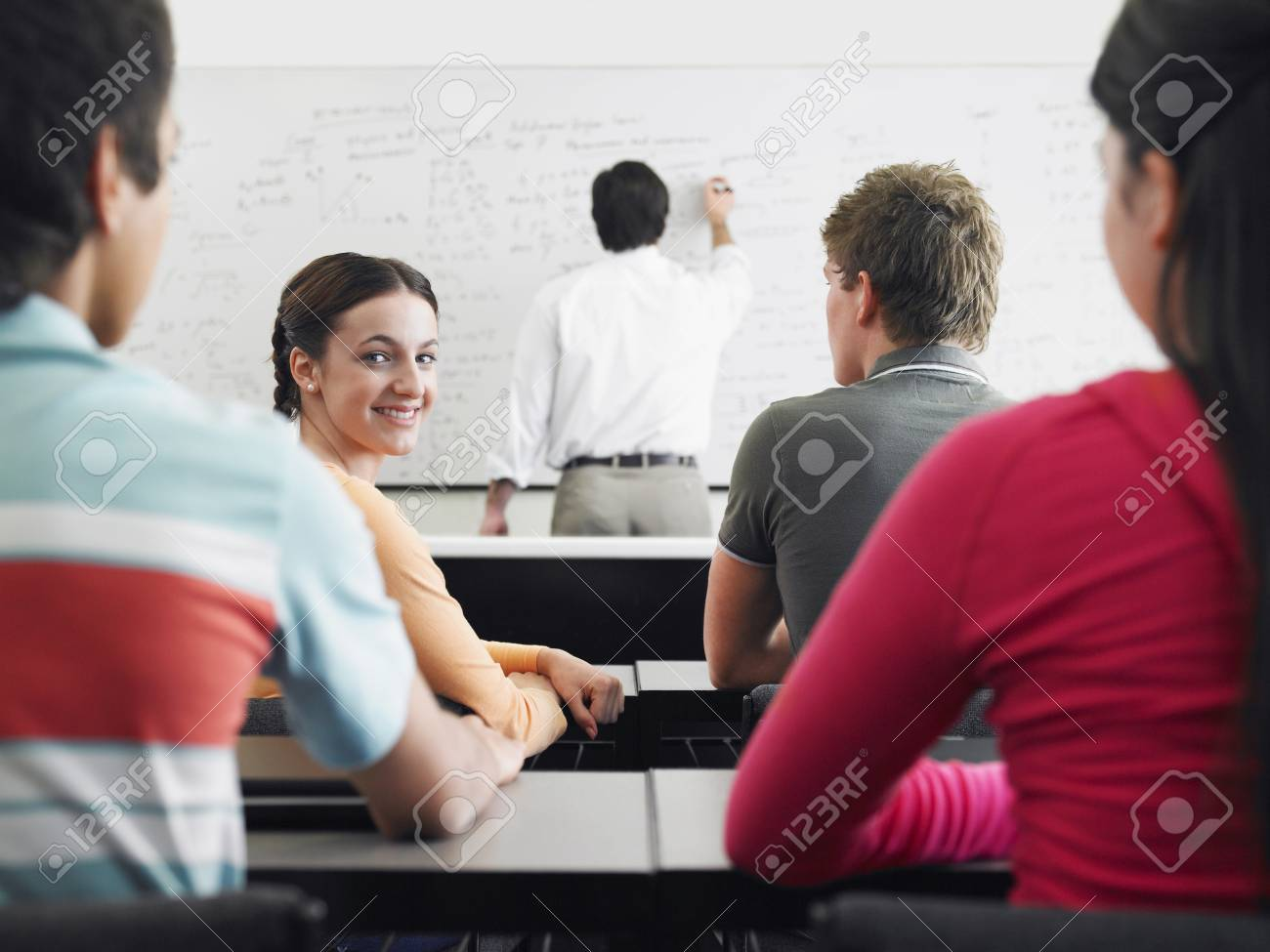 Highschool Classroom Stock Photo - 5487611