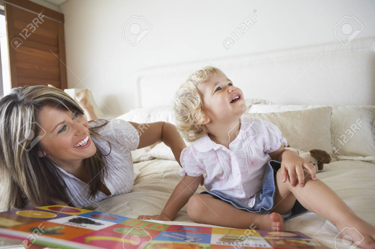 Mother Playing with Son Stock Photo - 5487648