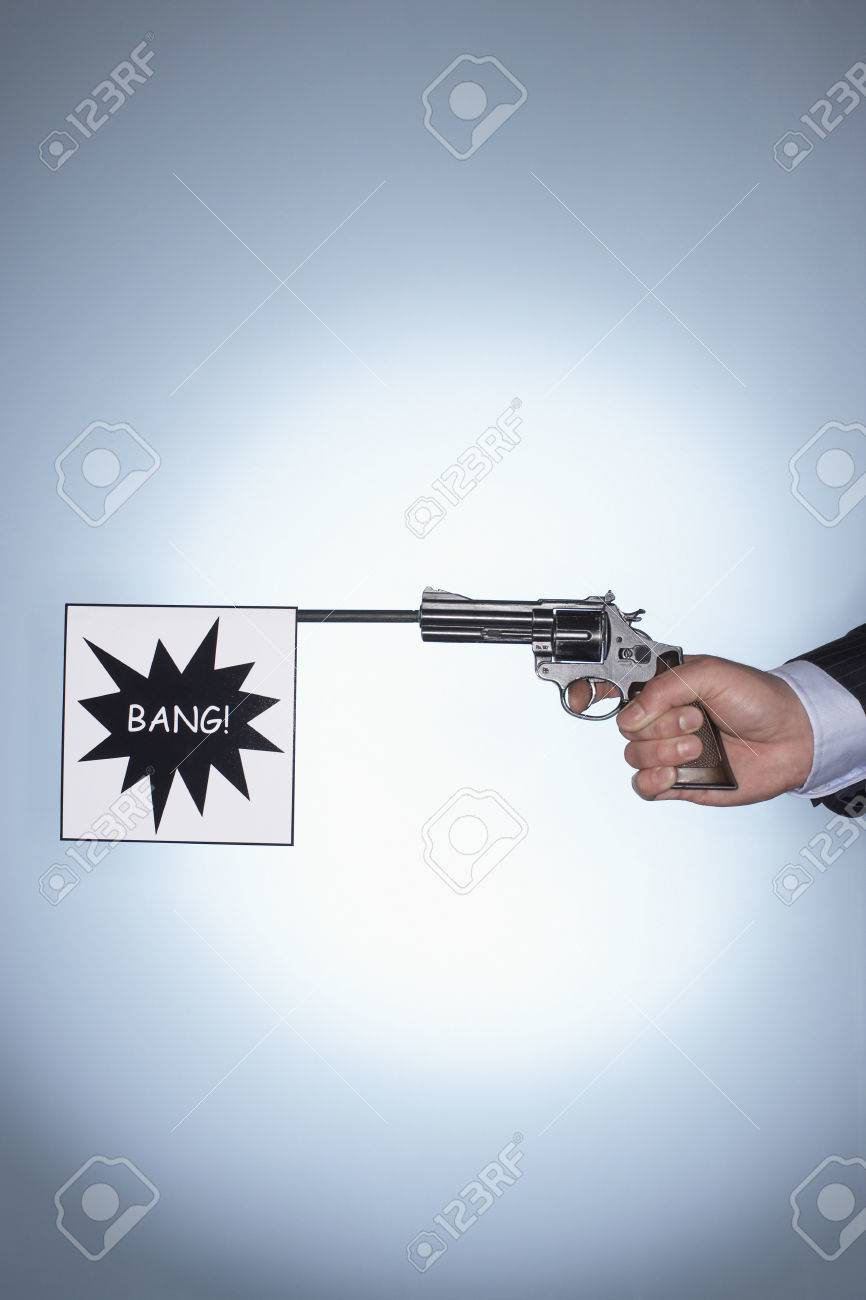 Bang Gunshot Banque d'images - 5487774
