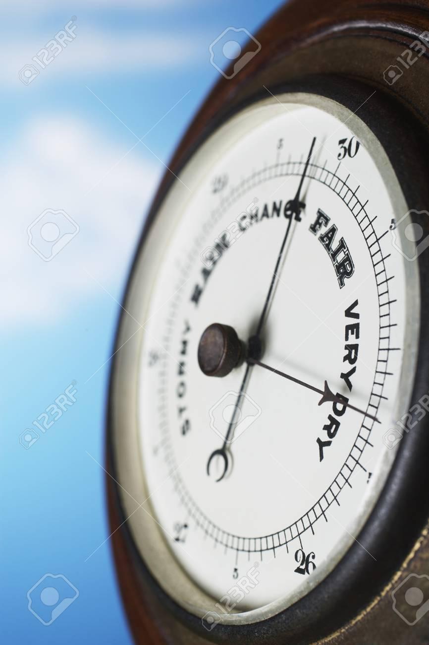 Barometer close up Stock Photo - 12514049