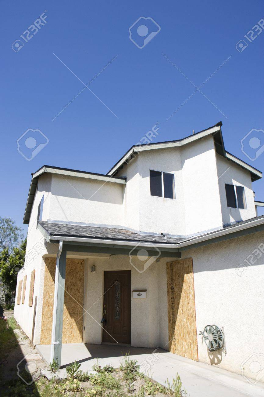 Boarded Up House Stock Photo - 12548165