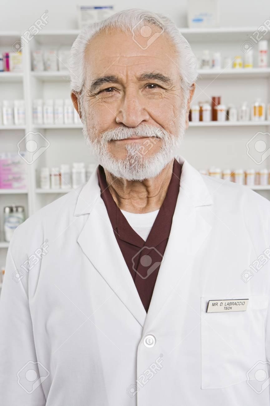Male pharmactist portrait Stock Photo - 12735096