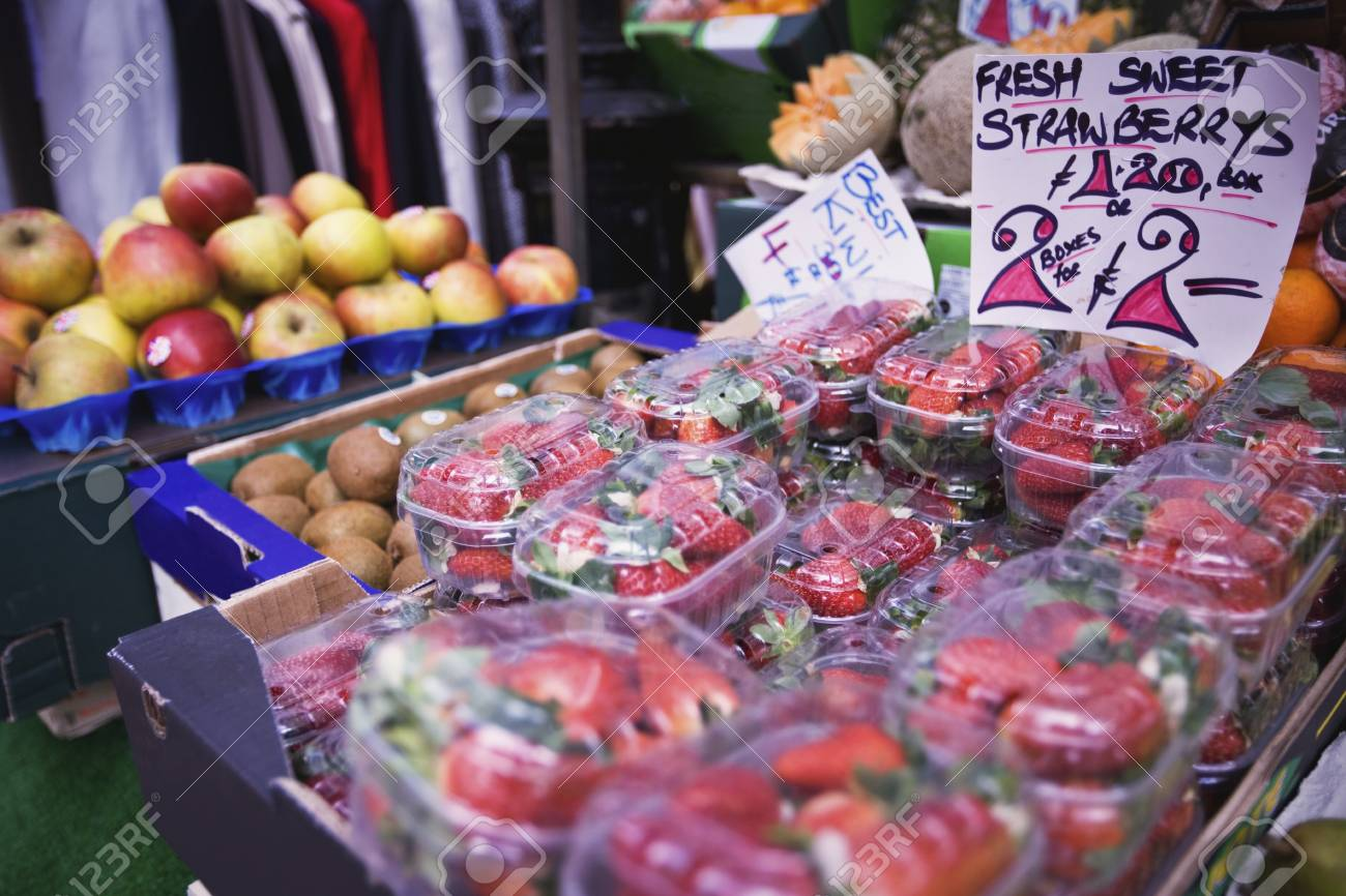 Fruit on a market stall Stock Photo - 12738439