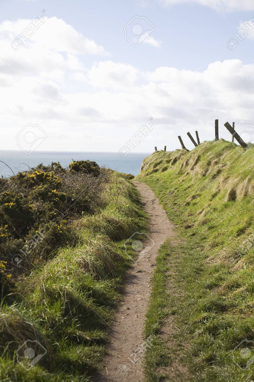 Coastal path Stock Photo - 20739562