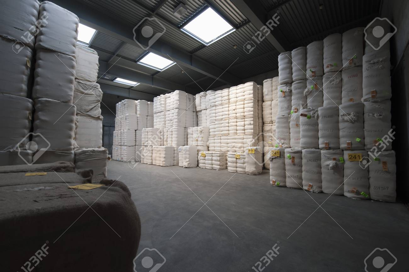 Spinning factory materials Stock Photo - 20740253