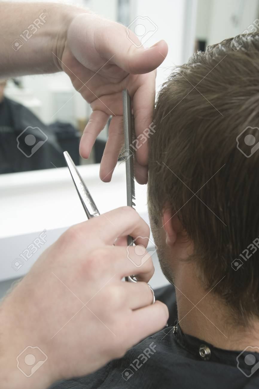 Precision clipping hair Stock Photo - 20741452