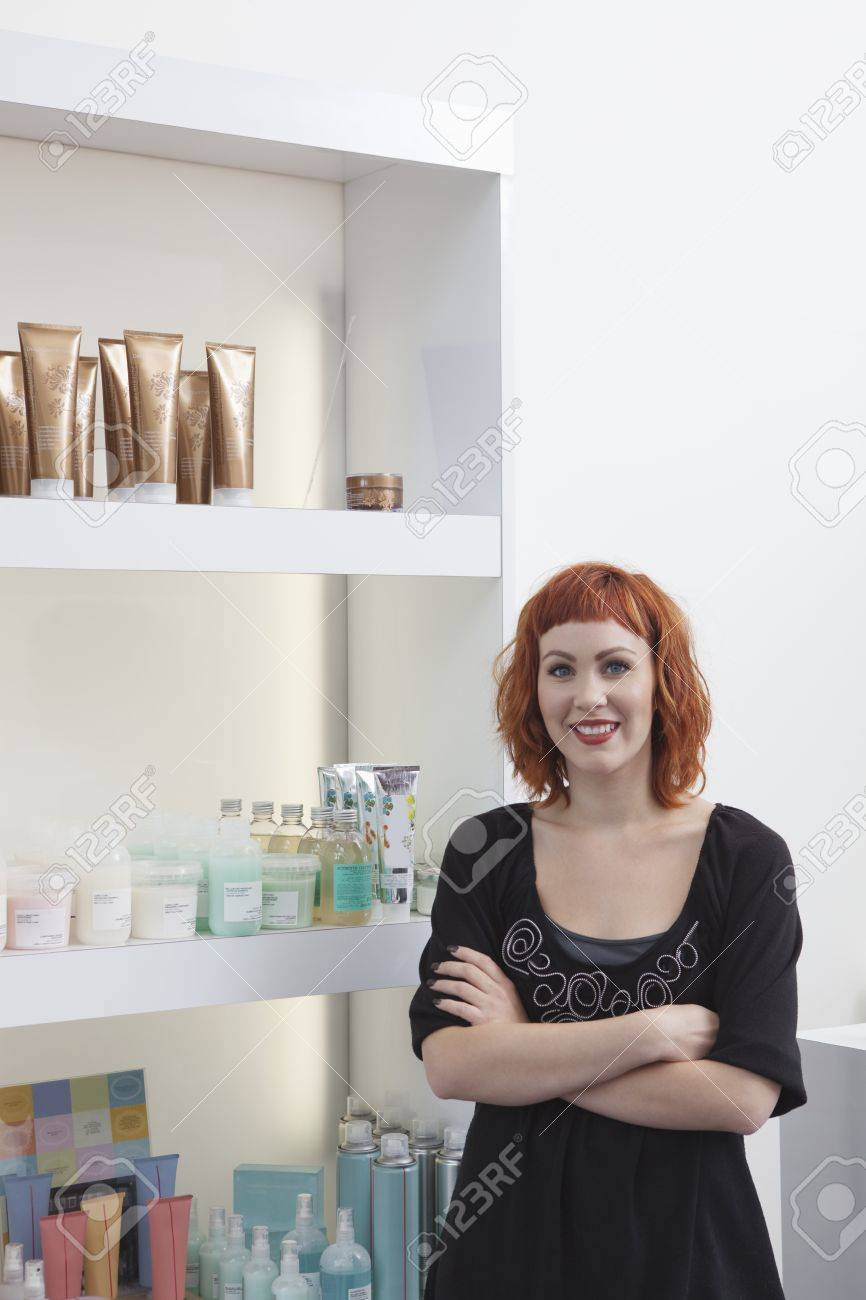 owner receptionist of hair salon stock photo picture and royalty owner receptionist of hair salon stock photo 20741483