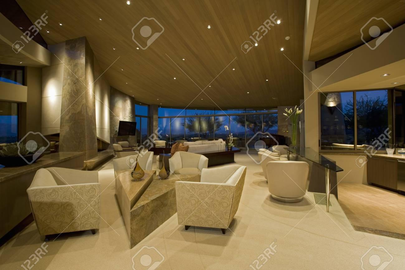 A modern interior Stock Photo - 20741867