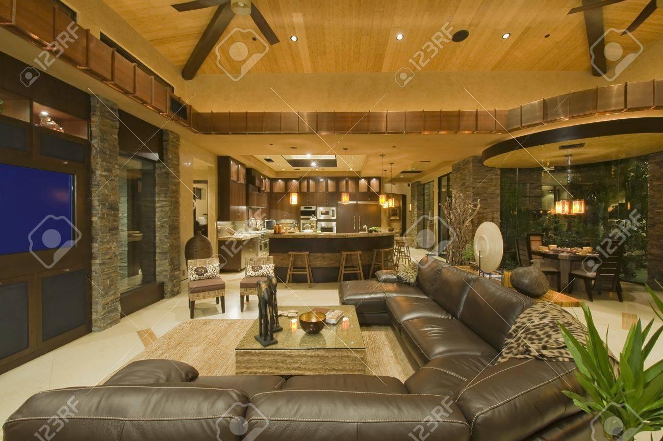 Open planned interior Stock Photo - 20741884