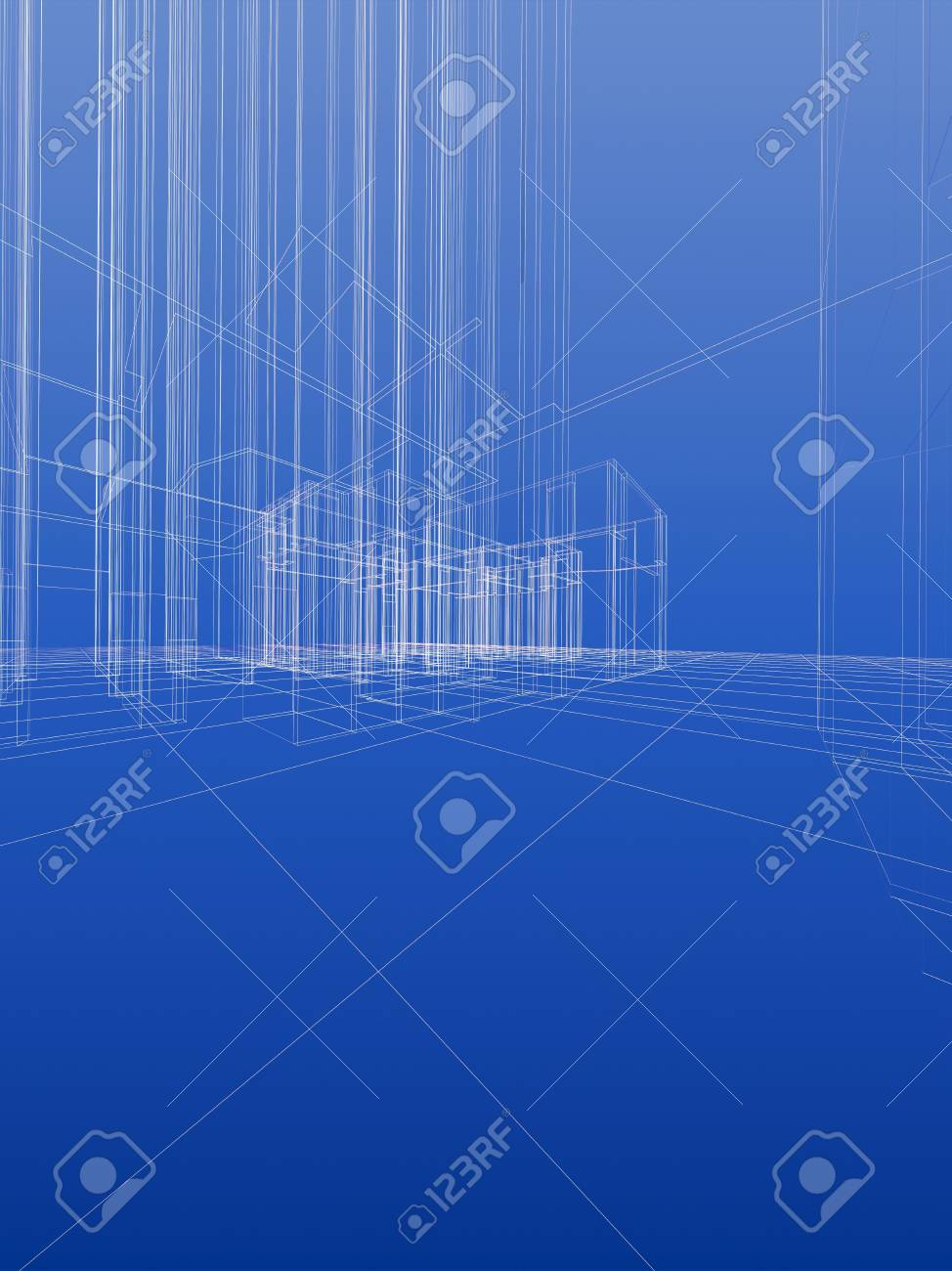 Abstract wireframe sketch background blueprint style vertical abstract wireframe sketch background blueprint style vertical format stock photo 10680657 malvernweather Choice Image