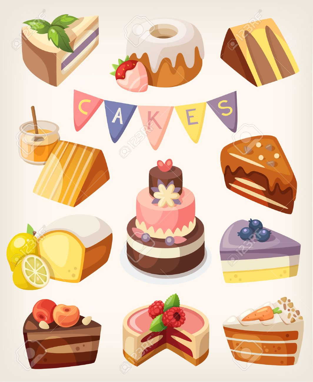 375,768 Dessert Stock Illustrations, Cliparts And Royalty Free ...