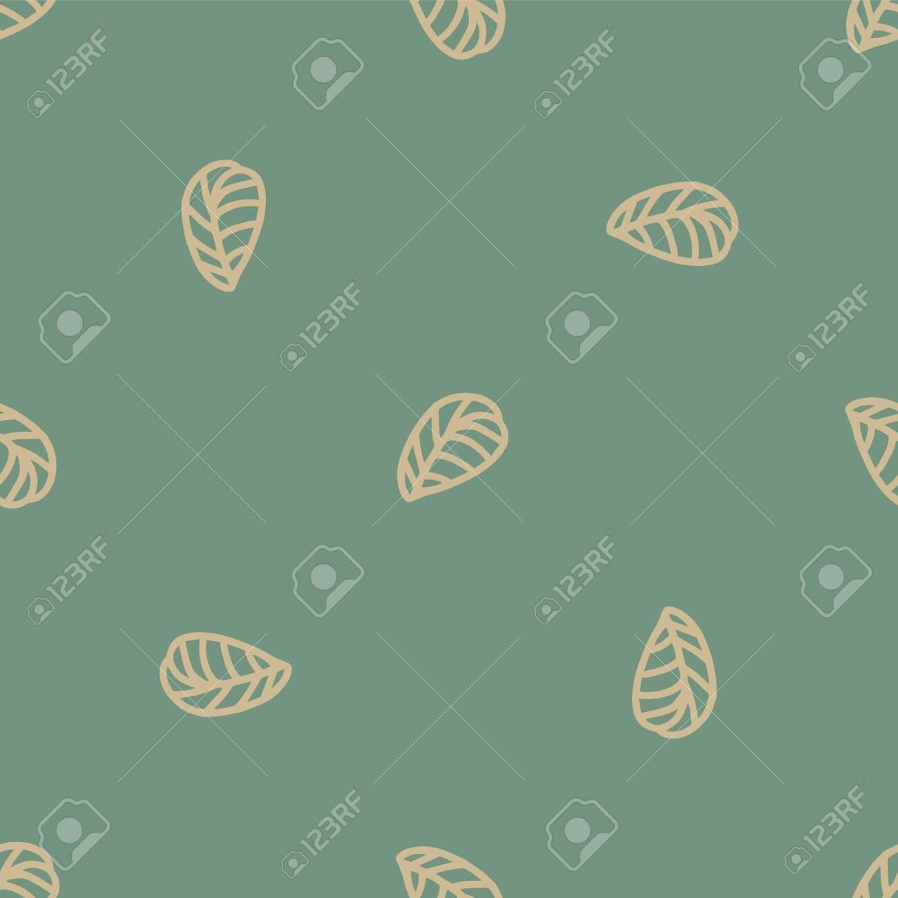 jungle seamless leaf repeat pattern design. Great for fashion textile design - 141093815