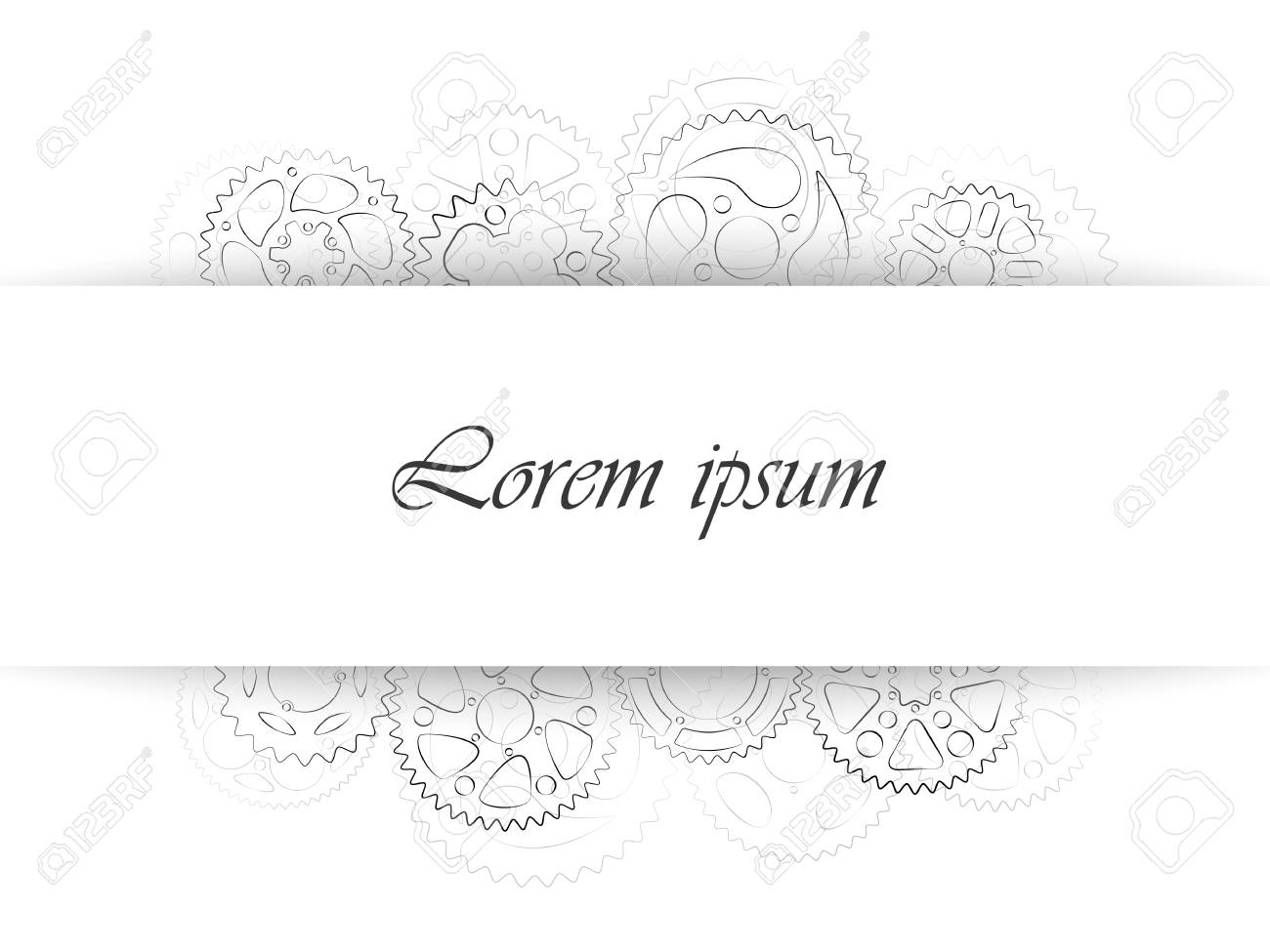 business card or wedding invitation template classic greeting