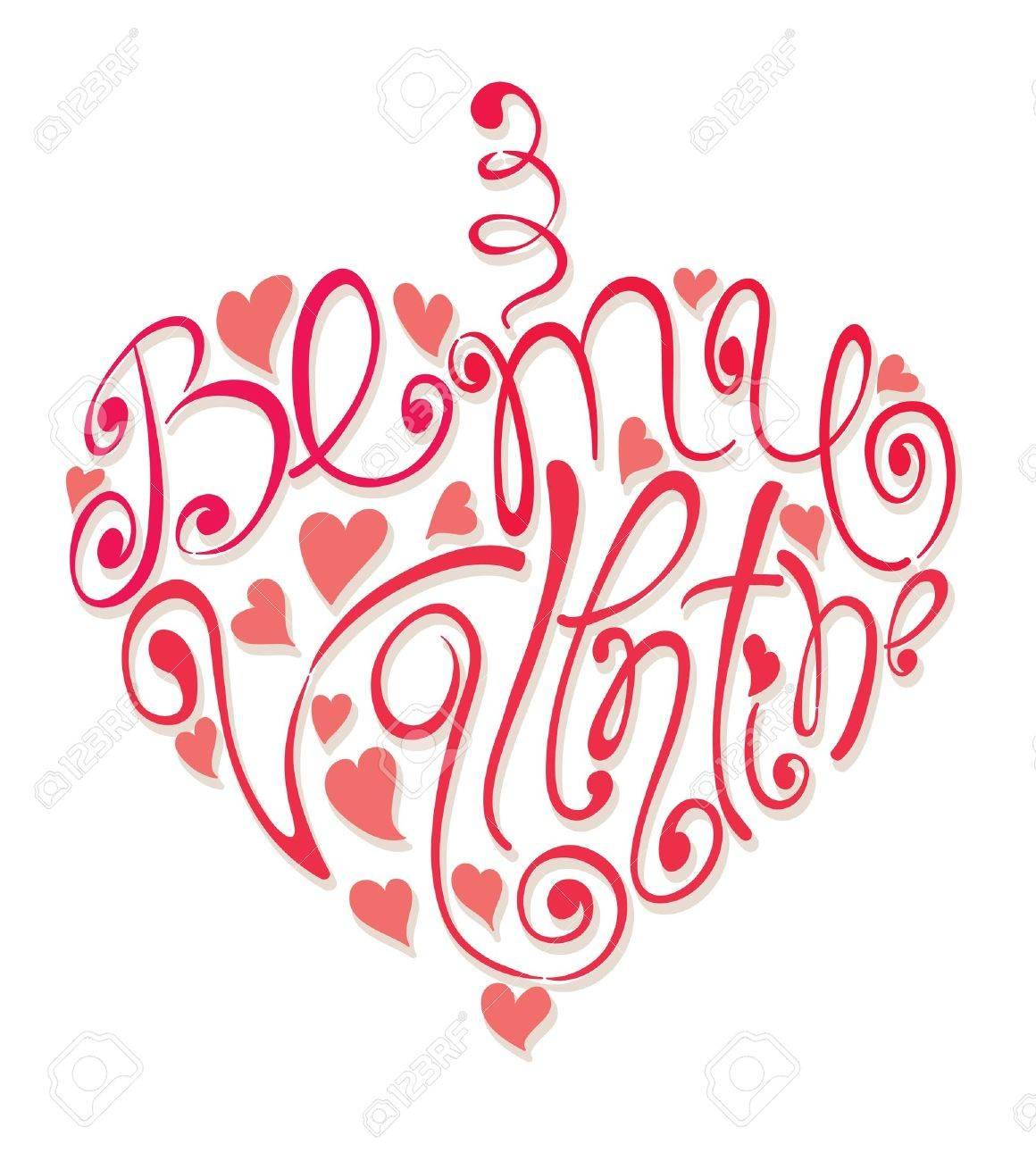 Heart - Be my Valentine Stock Vector - 11463923