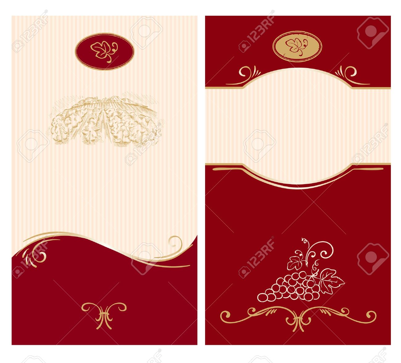 template for wine labels royalty free cliparts vectors and stock
