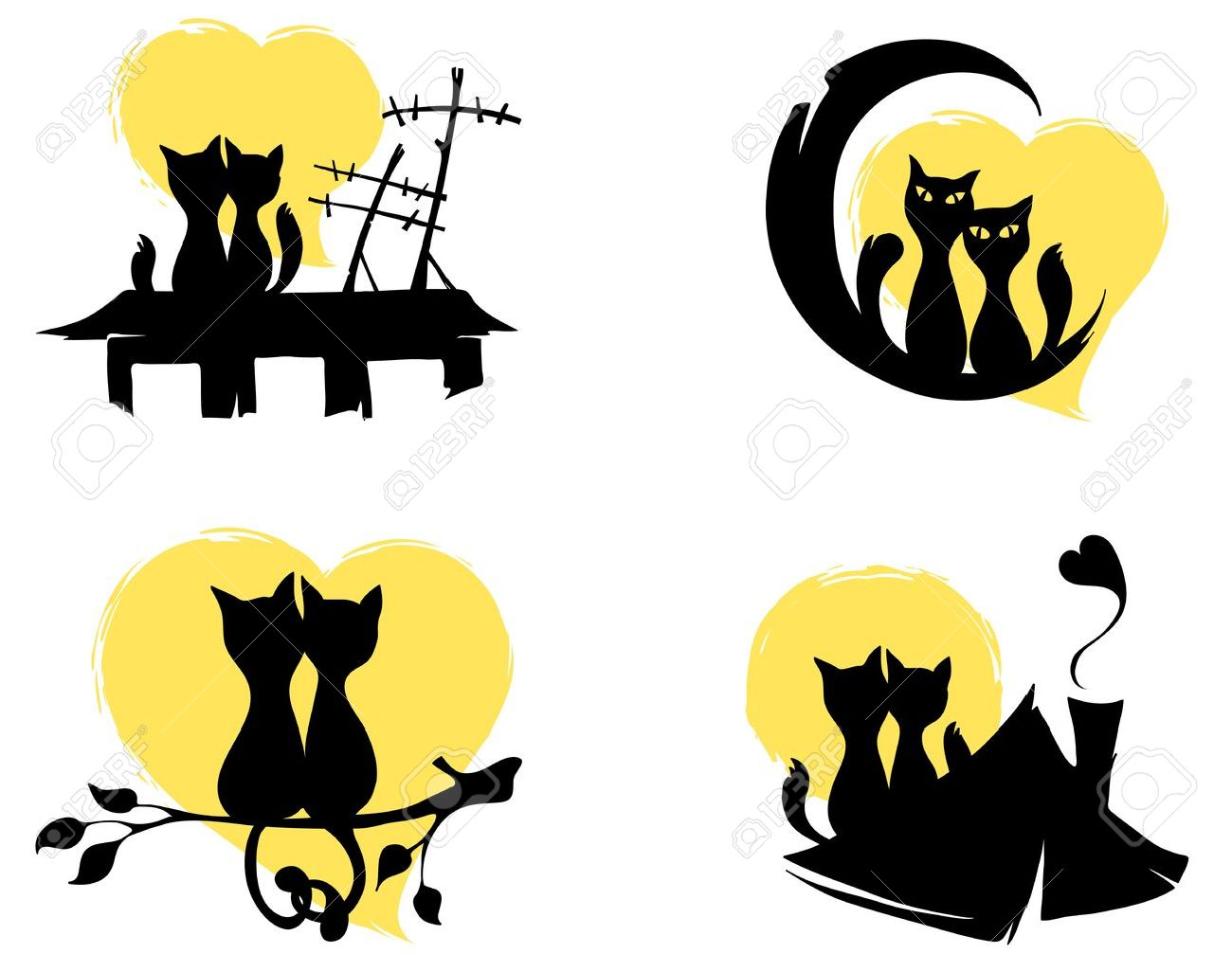 March cats Stock Vector - 12902480