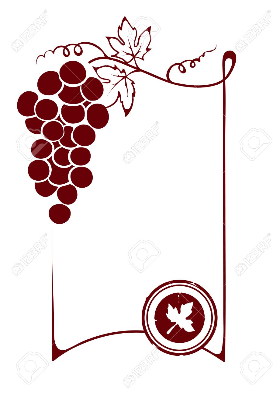 The Blank Wine Label Royalty Free Cliparts Vectors And – Free Wine Label Template