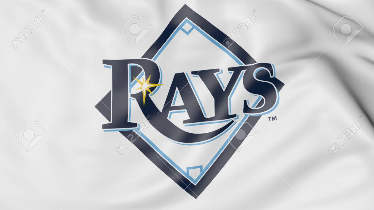 close up of waving flag with tampa bay rays mlb baseball team stock photo picture and royalty free image image 71008150 close up of waving flag with tampa bay rays mlb baseball team