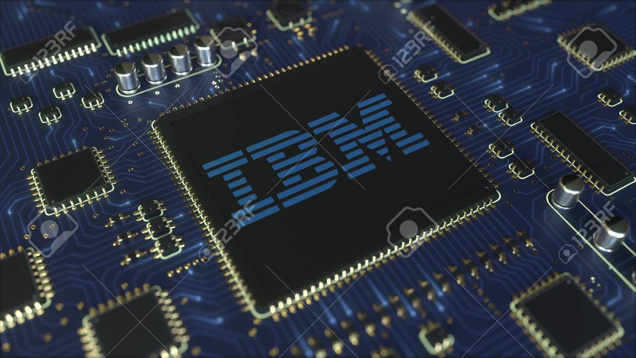 Computer Printed Circuit Board Or PCB With IBM Logo. Conceptual.. Stock  Photo, Picture And Royalty Free Image. Image 120104155.123RF