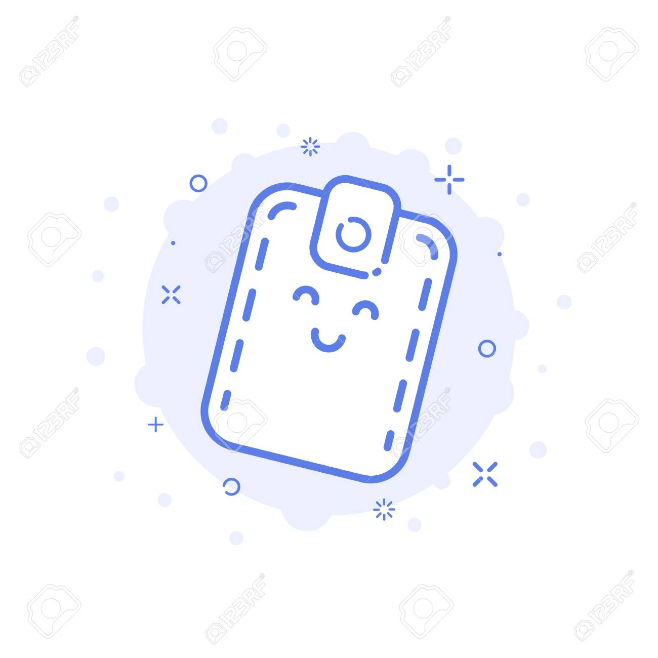 vector illustration of icon shopping concept with smiling cute royalty free cliparts vectors and stock illustration image 67483091 vector illustration of icon shopping concept with smiling cute