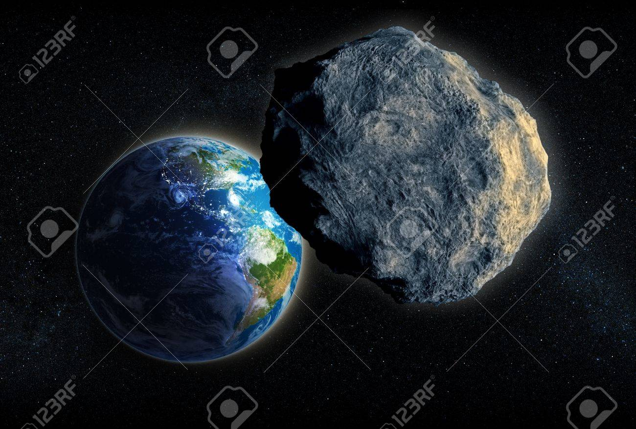 Large Asteroid closing in on Earth - 14605857