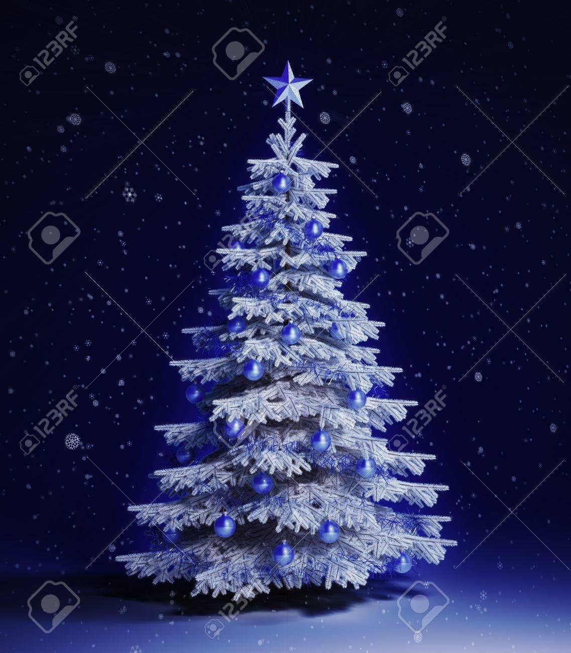 ホワイト クリスマス ツリー の写真素材・画像素材 Image 14810247.