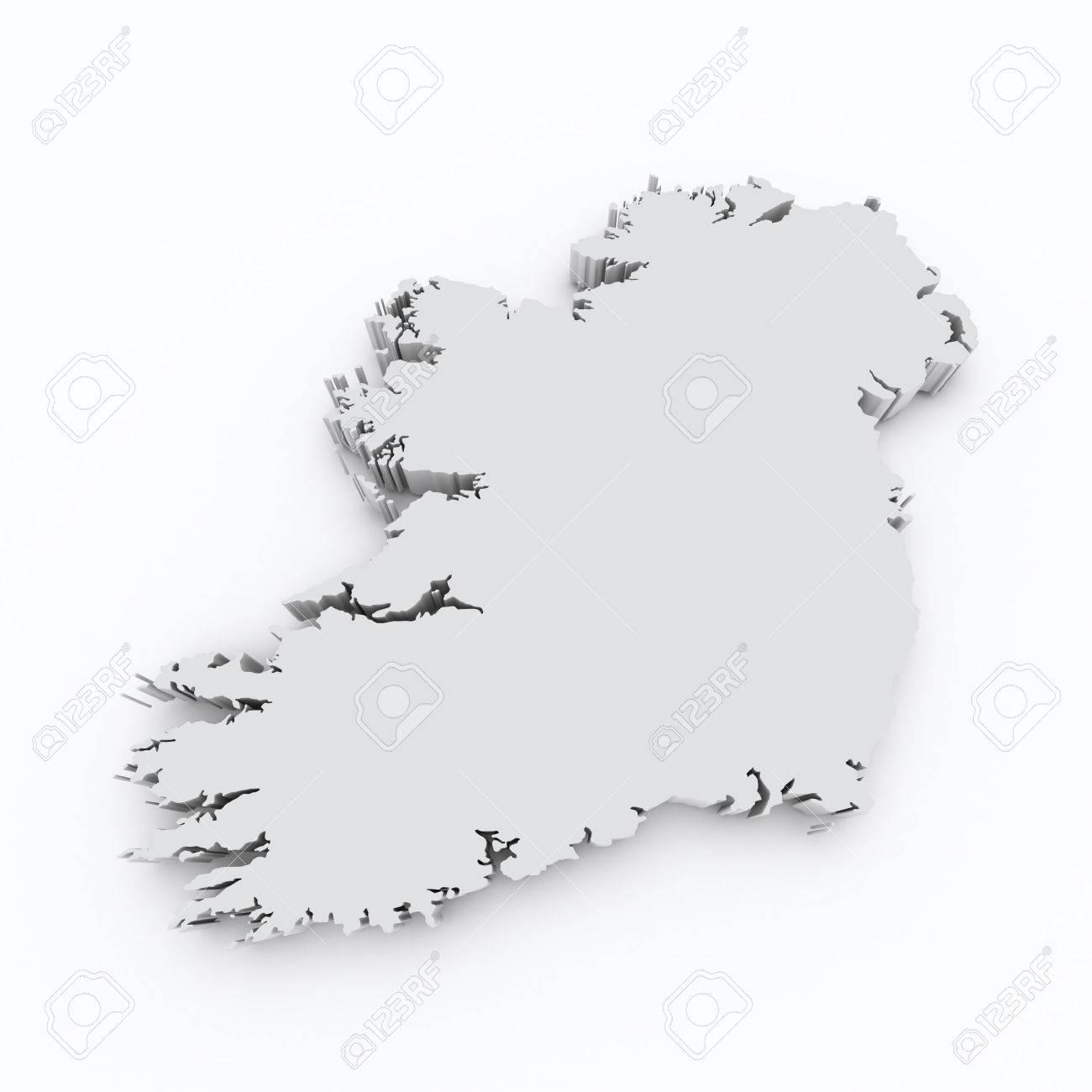 Map Of Ireland 3d.Ireland 3d Map