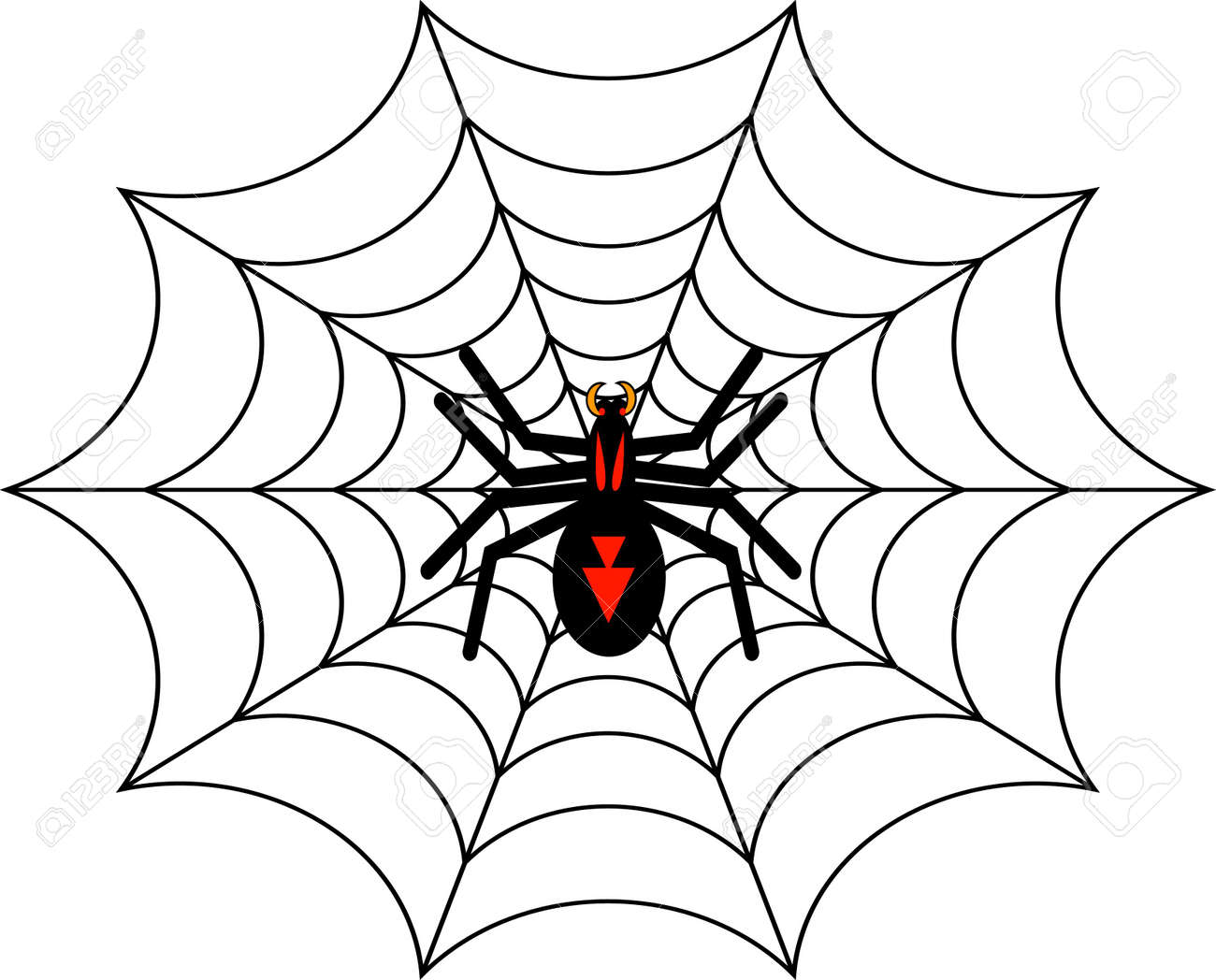 Halloween Spider Stock Photo, Picture And Royalty Free Image ...