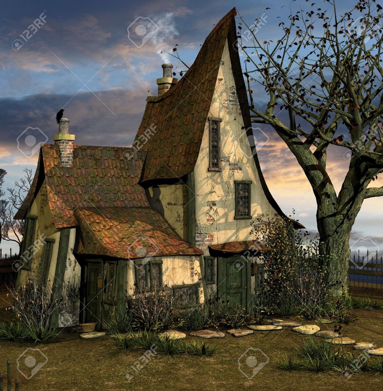 Little crooked house Stock Photo - 11177509