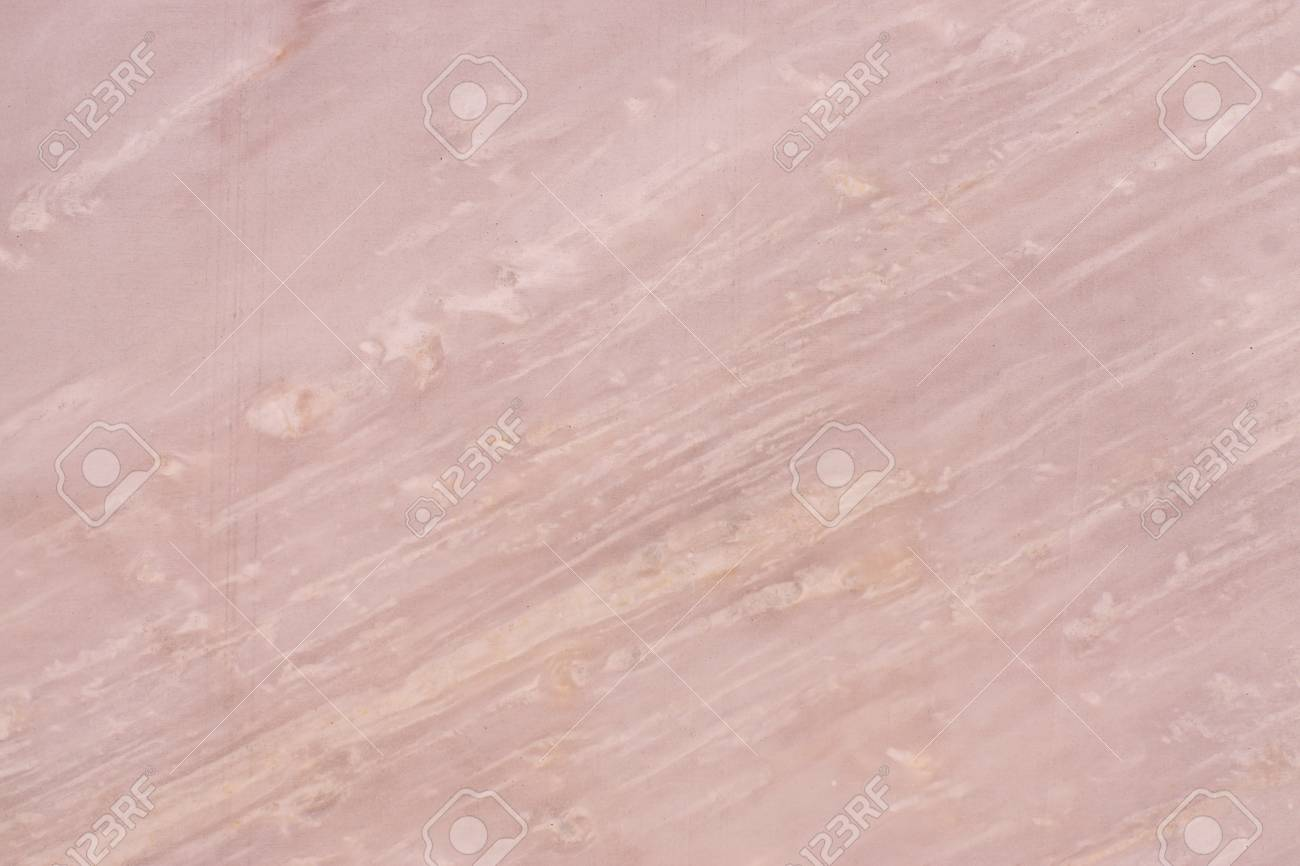Natural pink marble, marble texture with diagonal light streaks, called Roso Egeo. - 125877655