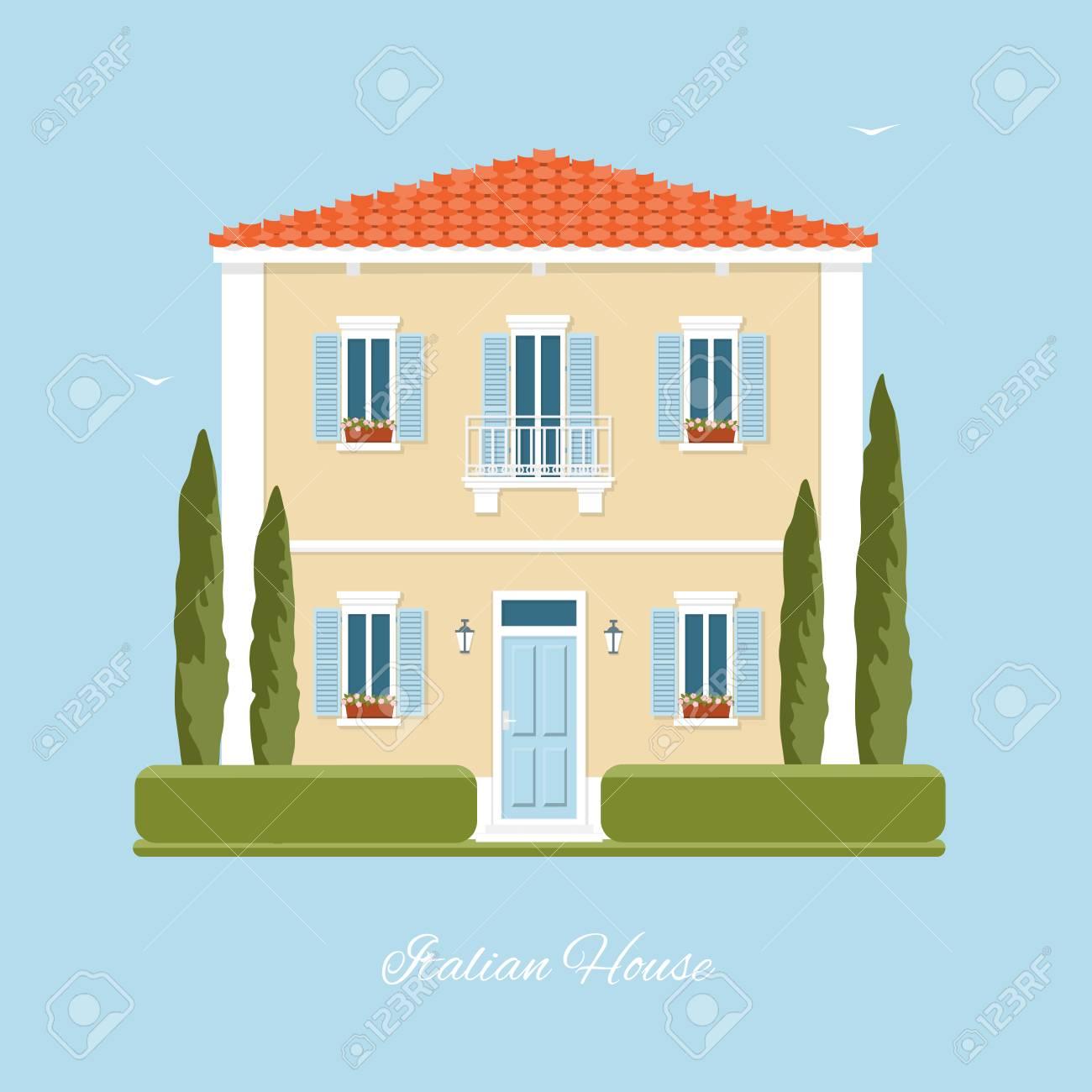 Traditional Italian House Mediterranean Architecture Tuscany