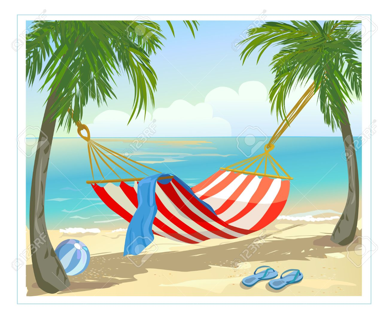 2,853 hammock cliparts, stock vector and royalty free hammock
